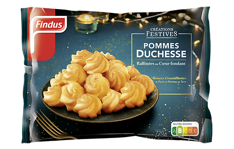 1 sachet Création Festive Pommes Duchesse Findus