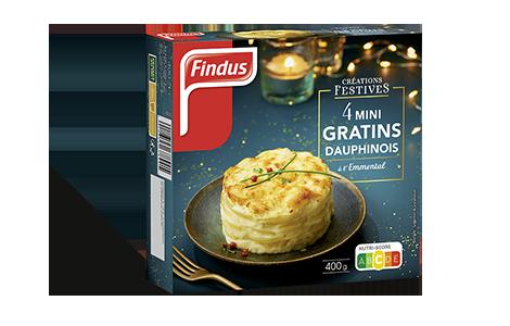 1 boite de mini gratins dauphinois création festives Findus
