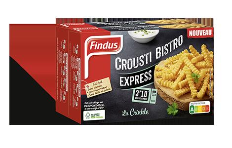 Paquet de frites crinkle crousti bistrot Findus