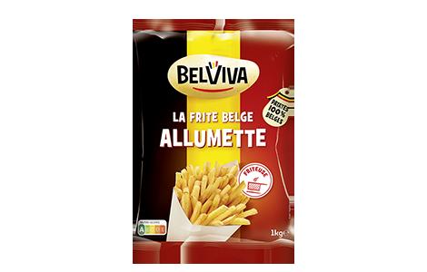 1 sachet de frites belges Belviva allumette