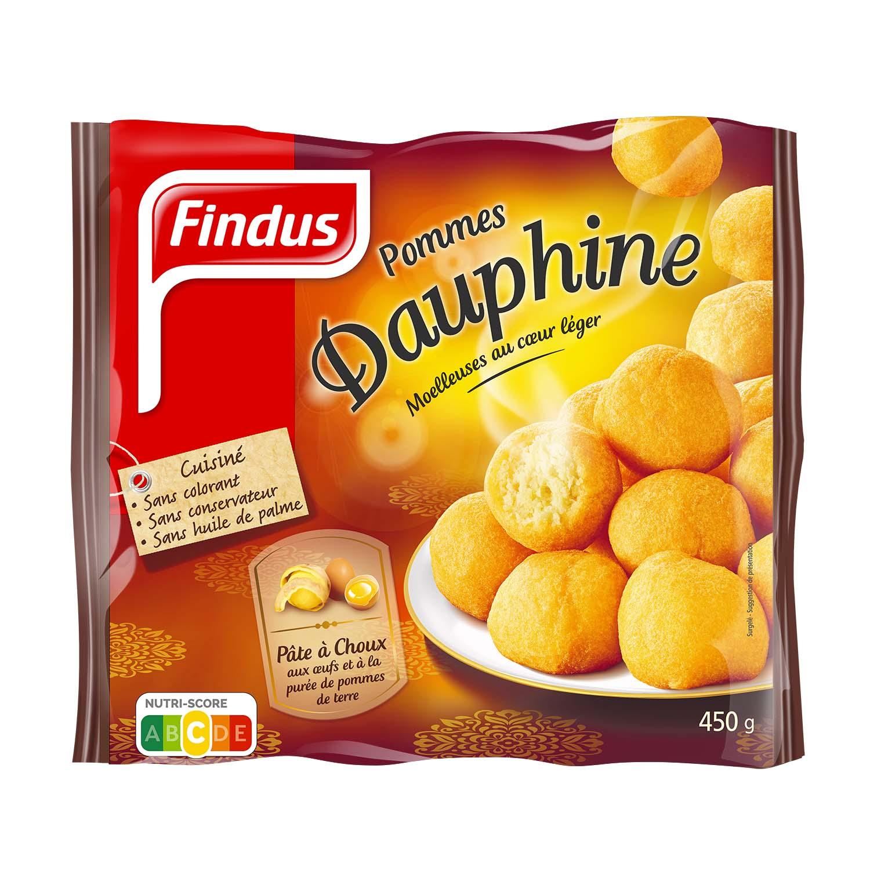 Sachet de pommes dauphines Findus