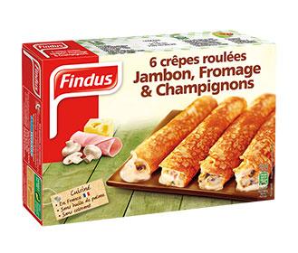 Crepes Jambon Chapignons