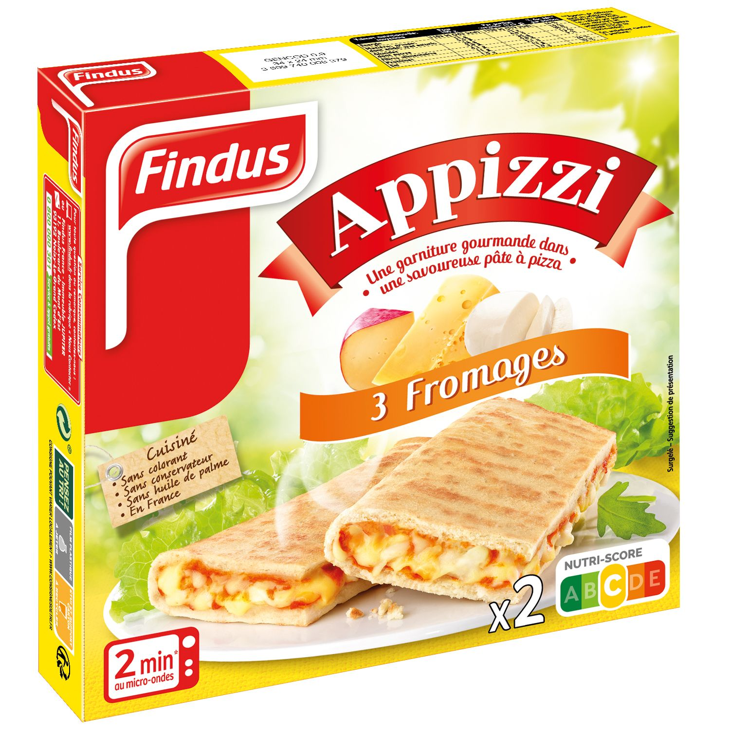 Appizzi 3 Fromages