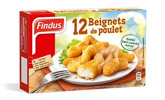 12 Beignets de poulet Findus