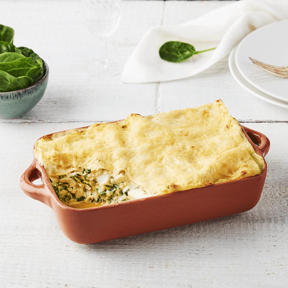 Findus recette Lasagnes colin d'Alaska et épinards à la crème