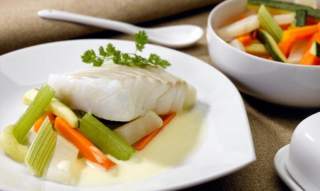 Recette Findus Cabillaud légumes vapeur sauce hollandaise