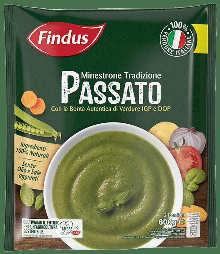 minestrone tradizione il passato - Minestroni Findus