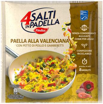 paella alla valenciana - Findus