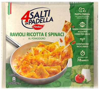 ravioli ricotta e spinaci monoporzione - Findus
