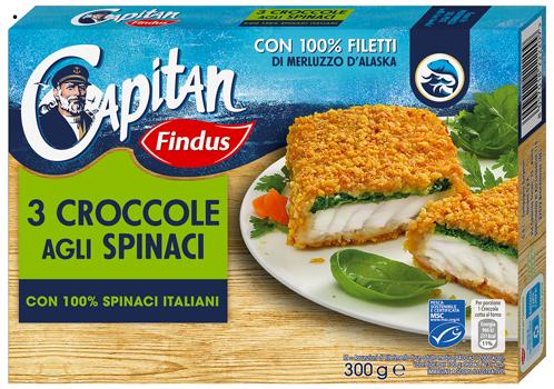 Croccole agli Spinaci - Findus