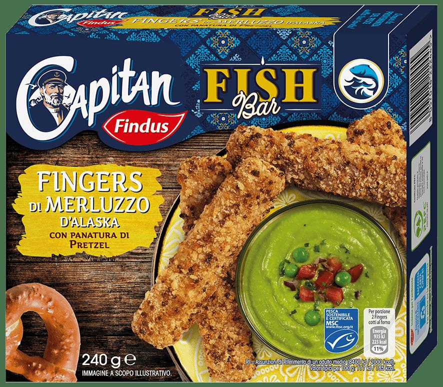 fingers di merluzzo fishbar - Findus
