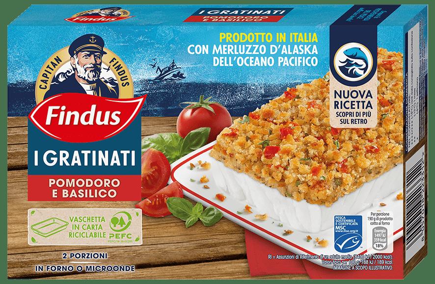 Pesce Ricettato - Findus