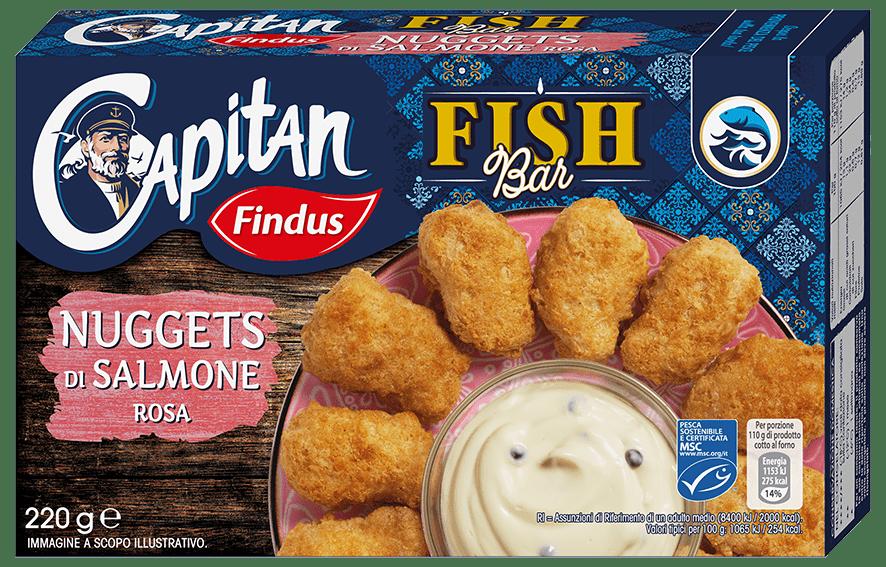 nuggets di salmone fishbar - Findus