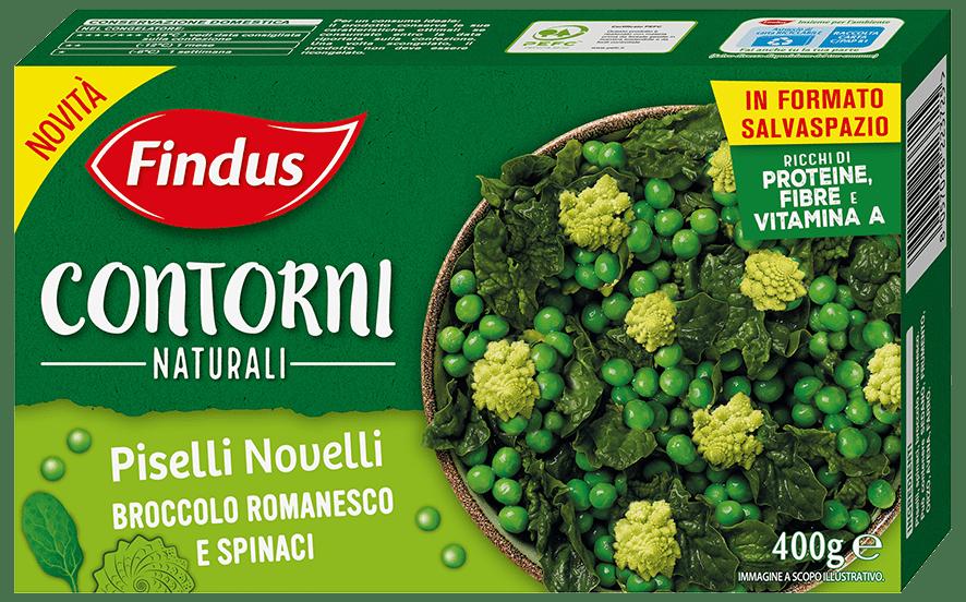 Piselli Novelli Broccoli e Spinaci - Findus