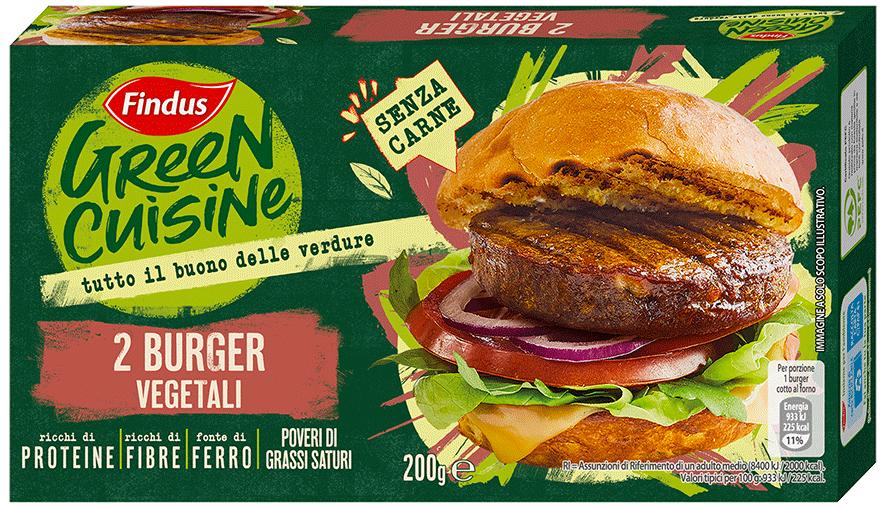 burger vegetali - Findus
