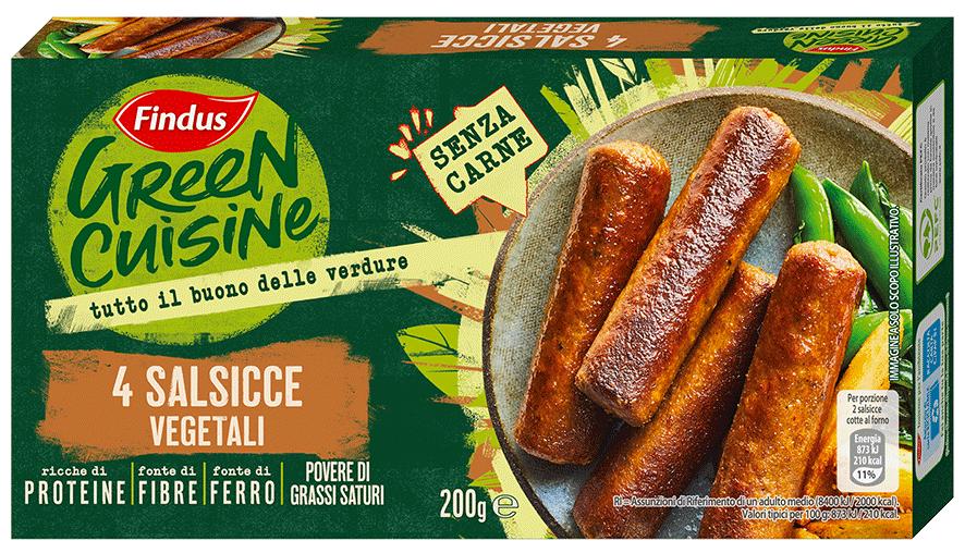 salsicce vegetali - Findus