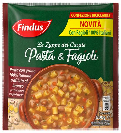Zuppa Pasta e Fagioli - Zuppe Findus