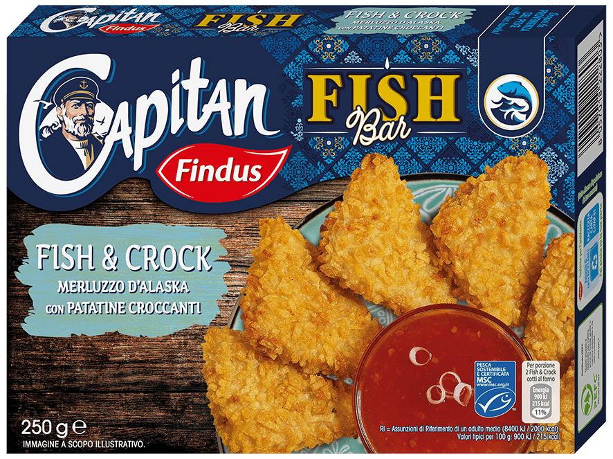 Fish crock promo 50 Capitano - Findus