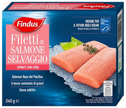 filetti di salmone selvaggio - Findus