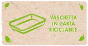Vaschetta in carta riciclabile - Findus