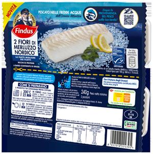 Fioridi Merluzzo Nordico - Pesce Findus