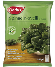Spinaci Novelli - Verdure Surgelate Findus