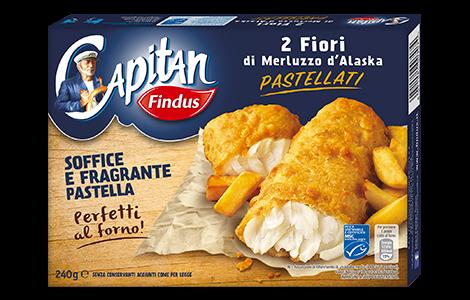 brand new a9d42 ec4e0 Fiori di Merluzzo Pastellati - Capitan Findus
