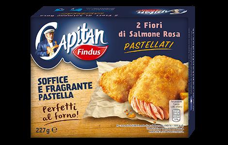 Fiori di Salmone in Pastella - salmone pastellato