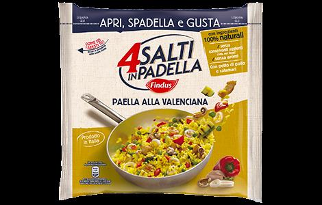 Paella alla valenciana - 4 Salti in Padella Findus