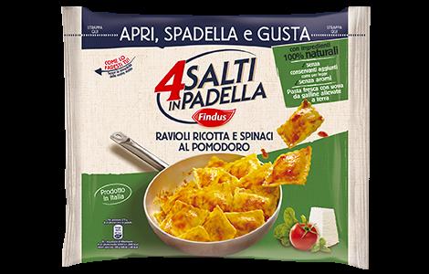Ravioli con ricotta e spinaci - 4 Salti in Padella Findus