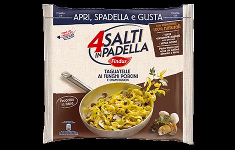 Pasta e riso findus scopri la gamma for Cucinare 4 salti in padella