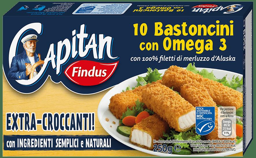 Bastoncini Omega 3 promo 50 Capitano - Findus