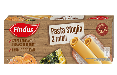 pasta sfoglia - Findus
