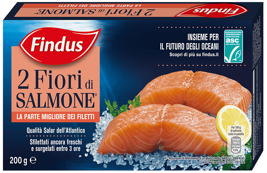 fiori di salmone - Findus