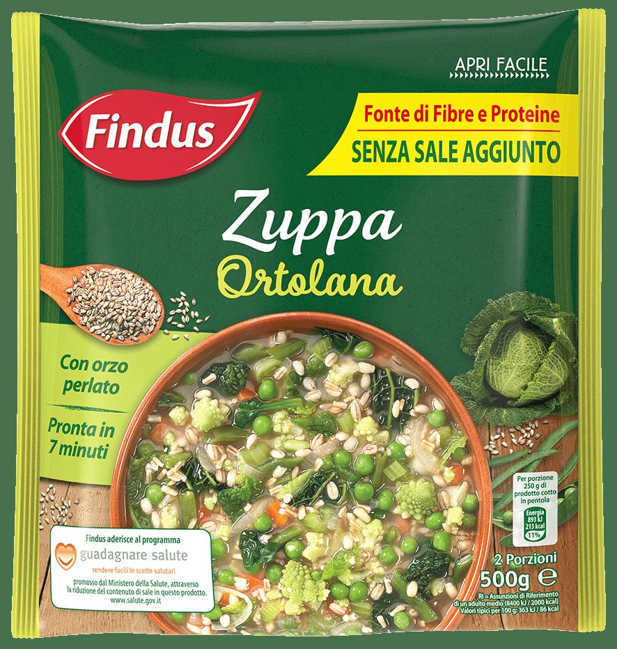 Zuppa Ortolana - Zuppe Findus