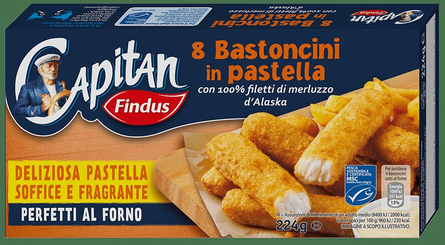 bastoncini in pastella - Findus