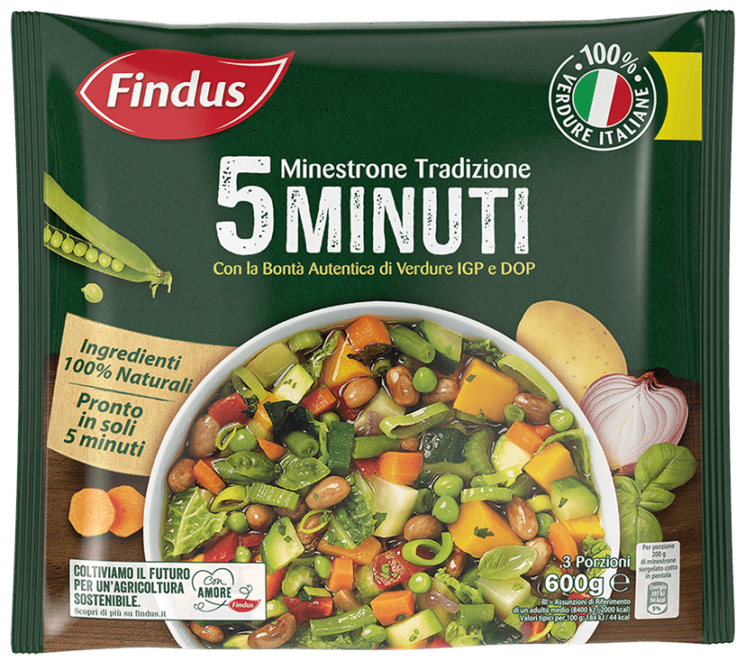 minestrone tradizione 5 minuti - Minestroni Findus