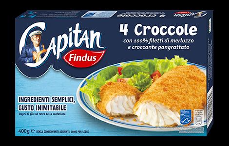 Croccole classiche promo 50 Capitano - Findus