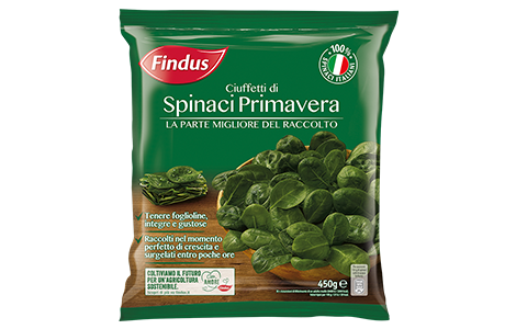 Ciuffetti di Spinaci Primavera - Verdure Surgelate Findus
