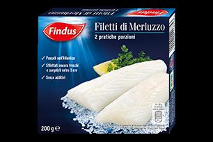 Filetti di Merluzzo Findus
