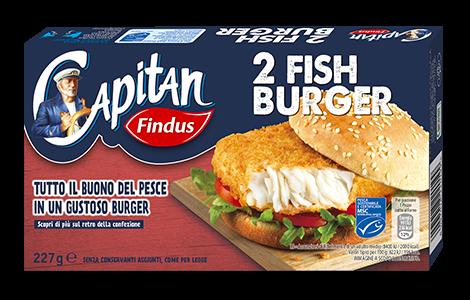 Fish Burger Findus