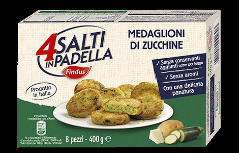 Medaglioni di Zucchine - Verdure Surgelate Findus