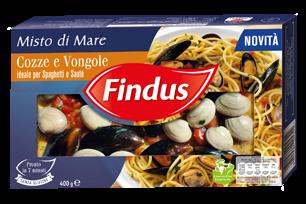 Misto cozze e vongole Findus