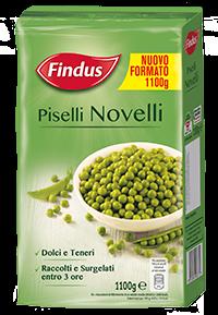 Piselli Novelli - Verdure Surgelate Findus