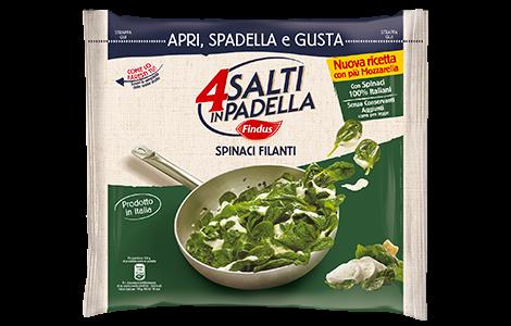 Spinaci Filanti - Verdure Surgelate Findus