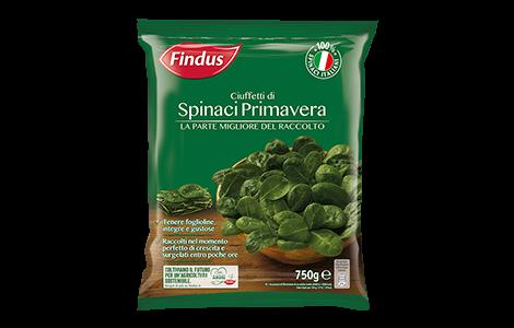 Spinaci Surgelati - Spinaci Primavera Findus
