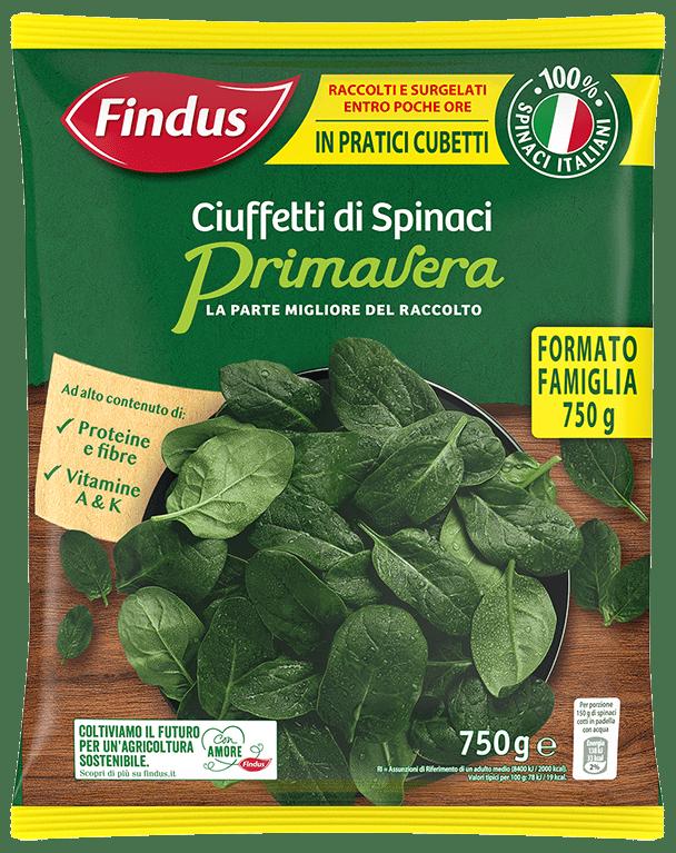 spinaci primavera - Findus