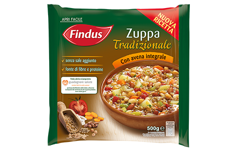 Zuppa Tradizionale Con Avena Integrale Findus