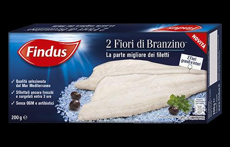 Fiori di Branzino, branzino surgelato - Findus