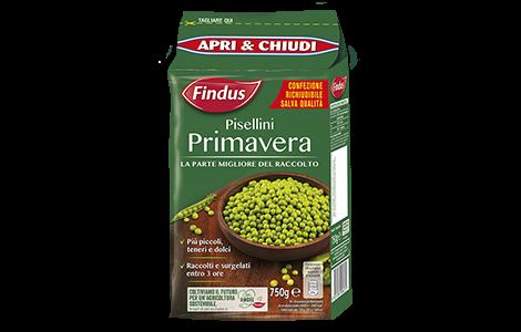 Pisellini Primavera - Verdure Surgelate Findus